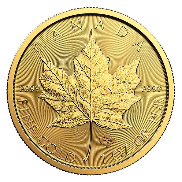 Gold Canadian Maple Leaf | Canadian Maple Leaf Gold Coin