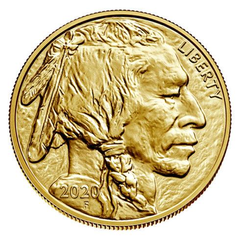 2020 American Buffalo gold coin obverse