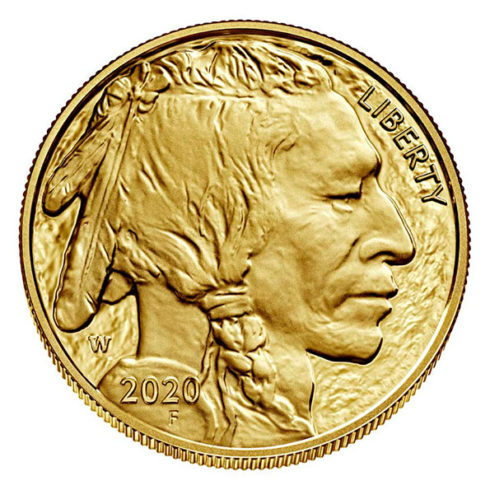 2020 American Buffalo gold proof coin obverse