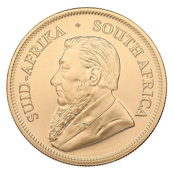 2020 gold Krugerrand obverse