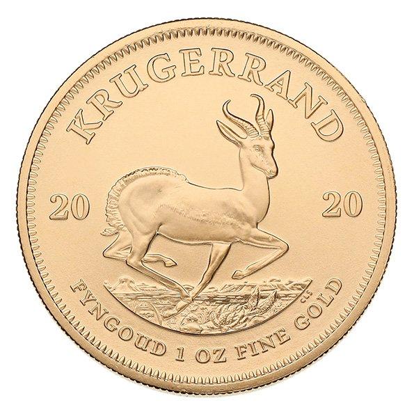2020 gold Krugerrand reverse