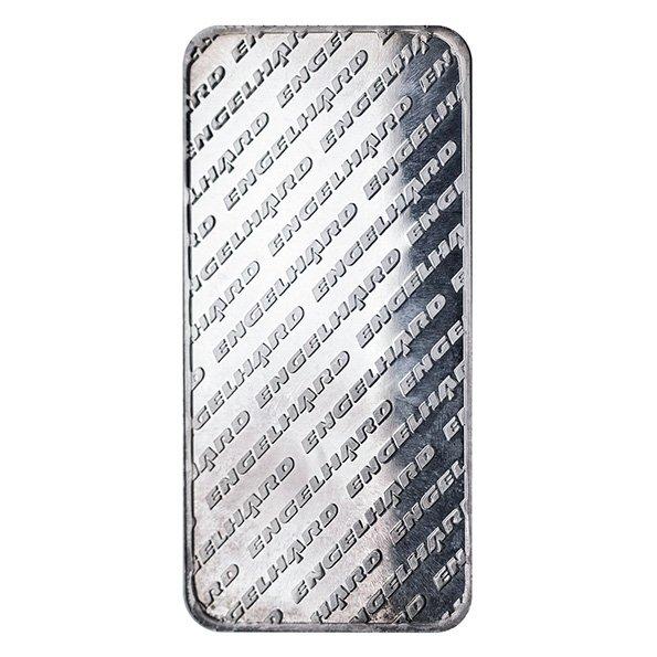 10oz Engelhard silver bar reverse