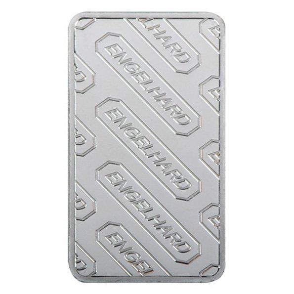 1 oz Engelhard silver bar reverse