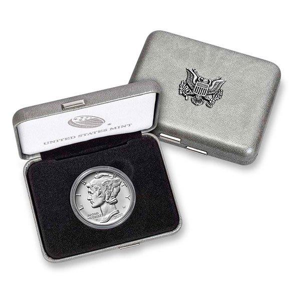 2020 American Eagle palladium coin box