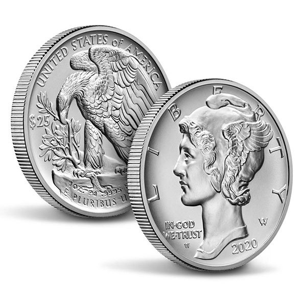 2020 American Eagle palladium coins obverse-reverse