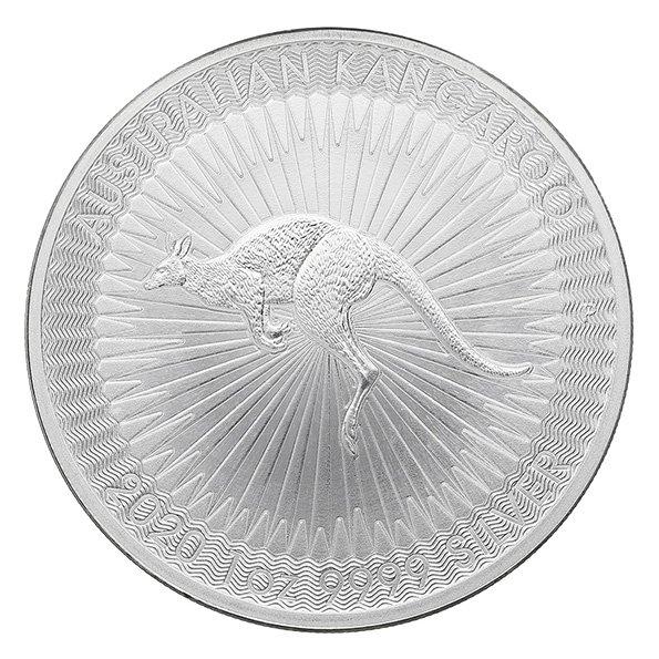 2020 Australian Kangaroo silver coin obverse