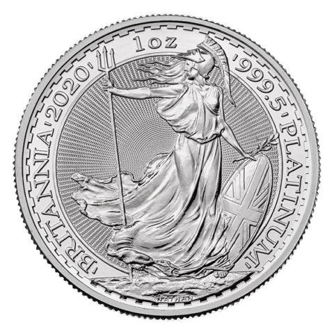2020 platinum Britannia reverse