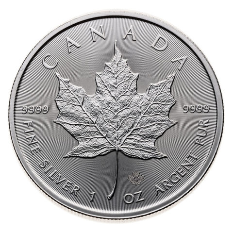 2020 Silver Maple Leaf coin obverse