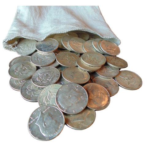 40% US silver coins