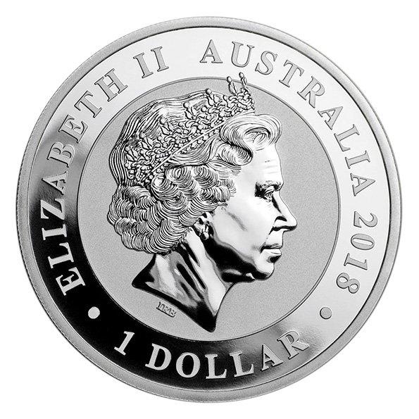 Australian Silver Swan coin obverse
