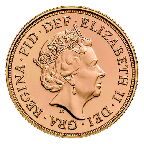 Great Britain Gold Sovereign coin obverse