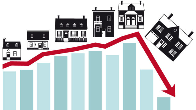 home sales drop