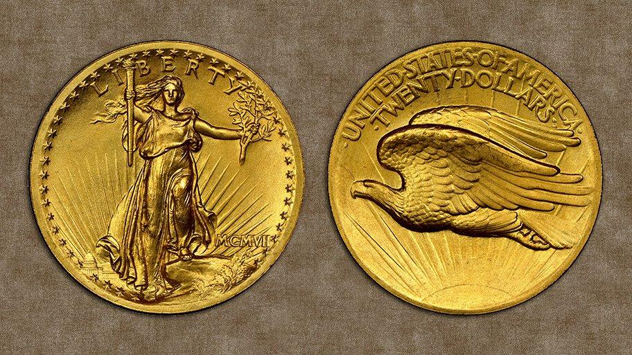 pre-1933 Saint-Gaudens high relief gold coins