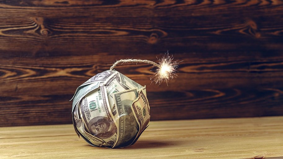 dollar crisis time bomb