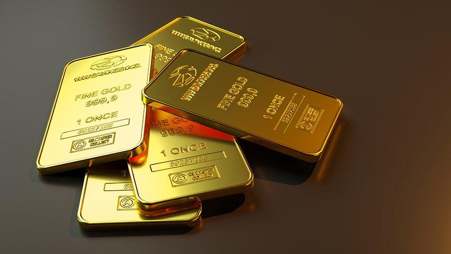 1oz gold bars