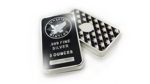 Sunshine Minting silver bars