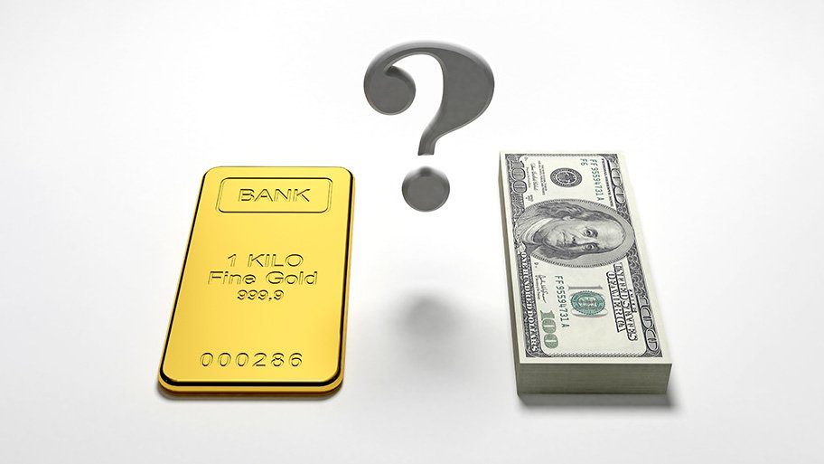 gold or paper money to save the economy