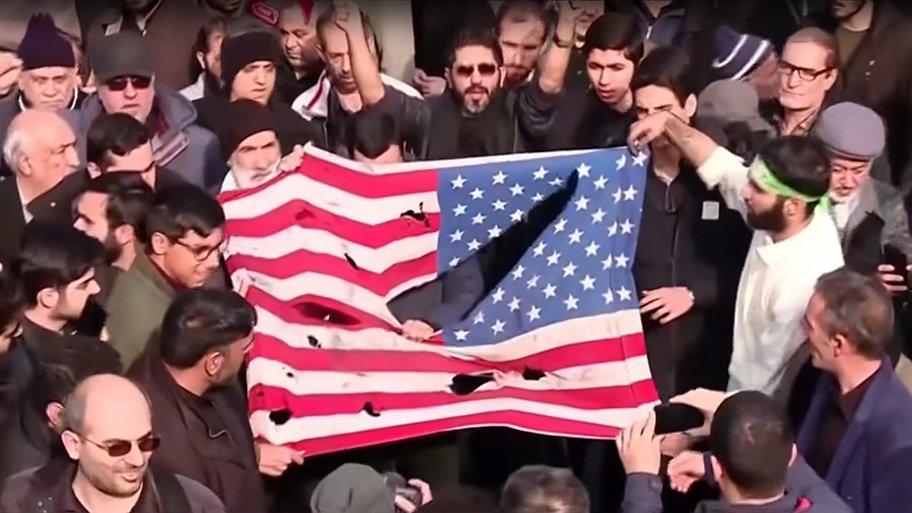 Iran - protesters