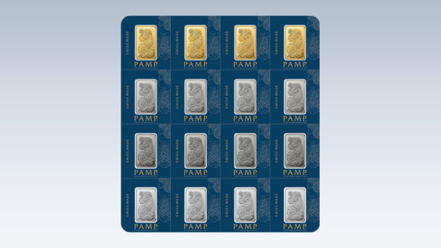physical gold silver bars