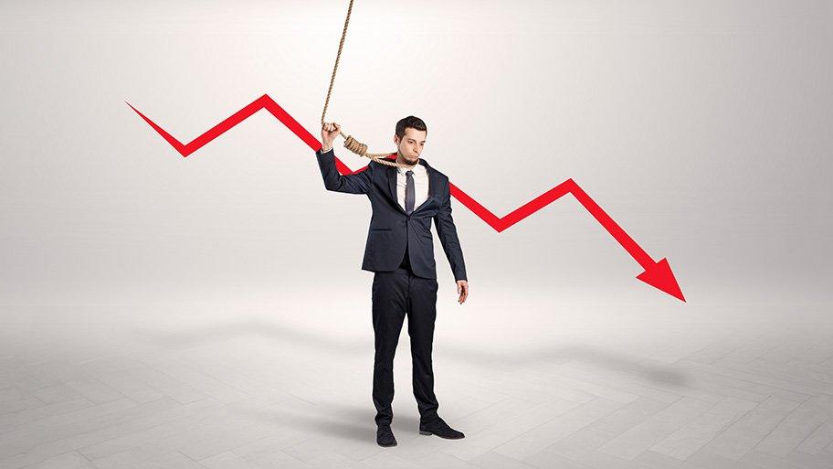 recession trader hanging himself