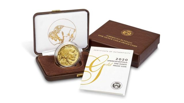 2020 American Buffalo gold proof coin in box