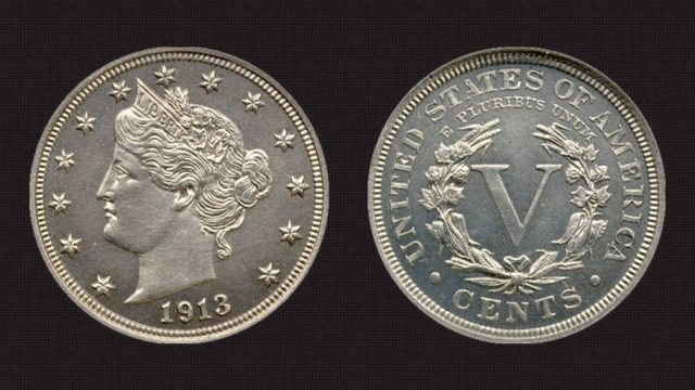 1913 Liberty Head V Nickel