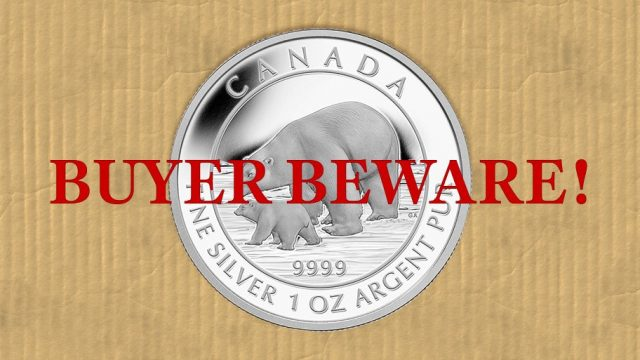 buyer beware specialty coins