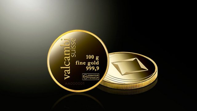 Valcambi gold coins