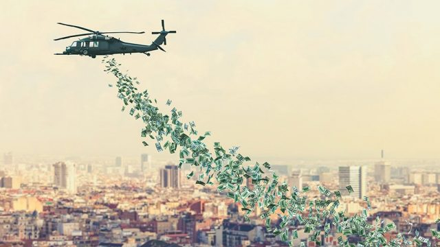 helicopter money - recovery