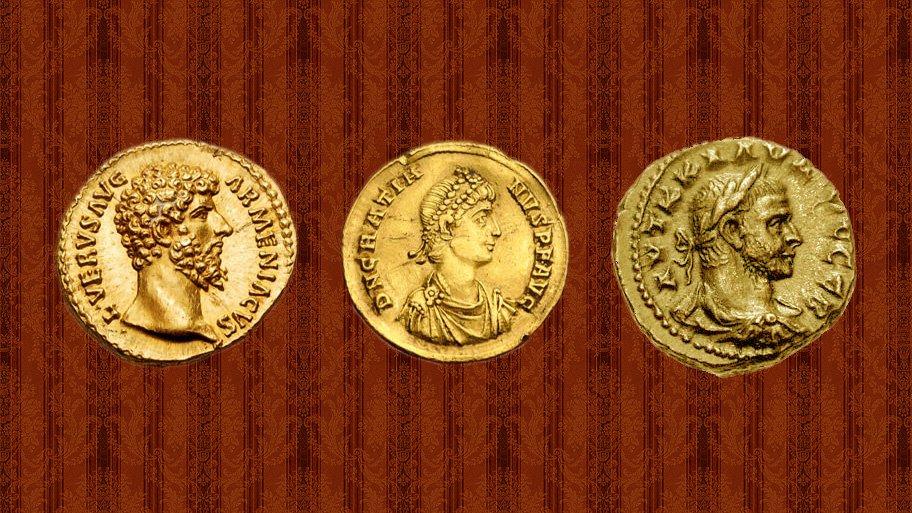 Roman gold money