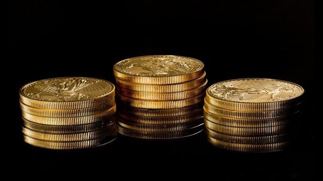 American Eagle coins - gold prices higher