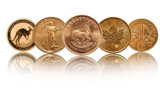 physical gold coins