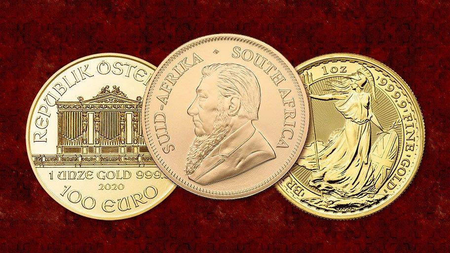 gold bullion coins